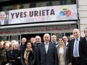 Municipales à Pau : le XV d'Yves Urieta . Source :  Sud-Ouest du 31/01/2014