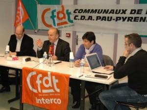 Rencontre avec la section syndicale CFDT